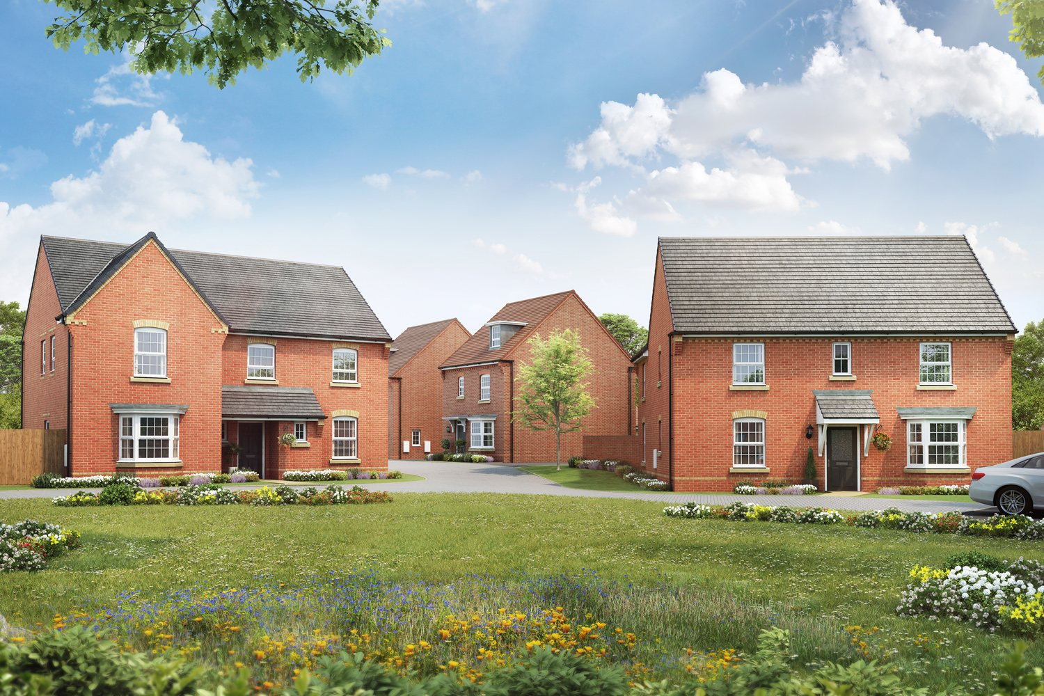 New Build Homes in Hook