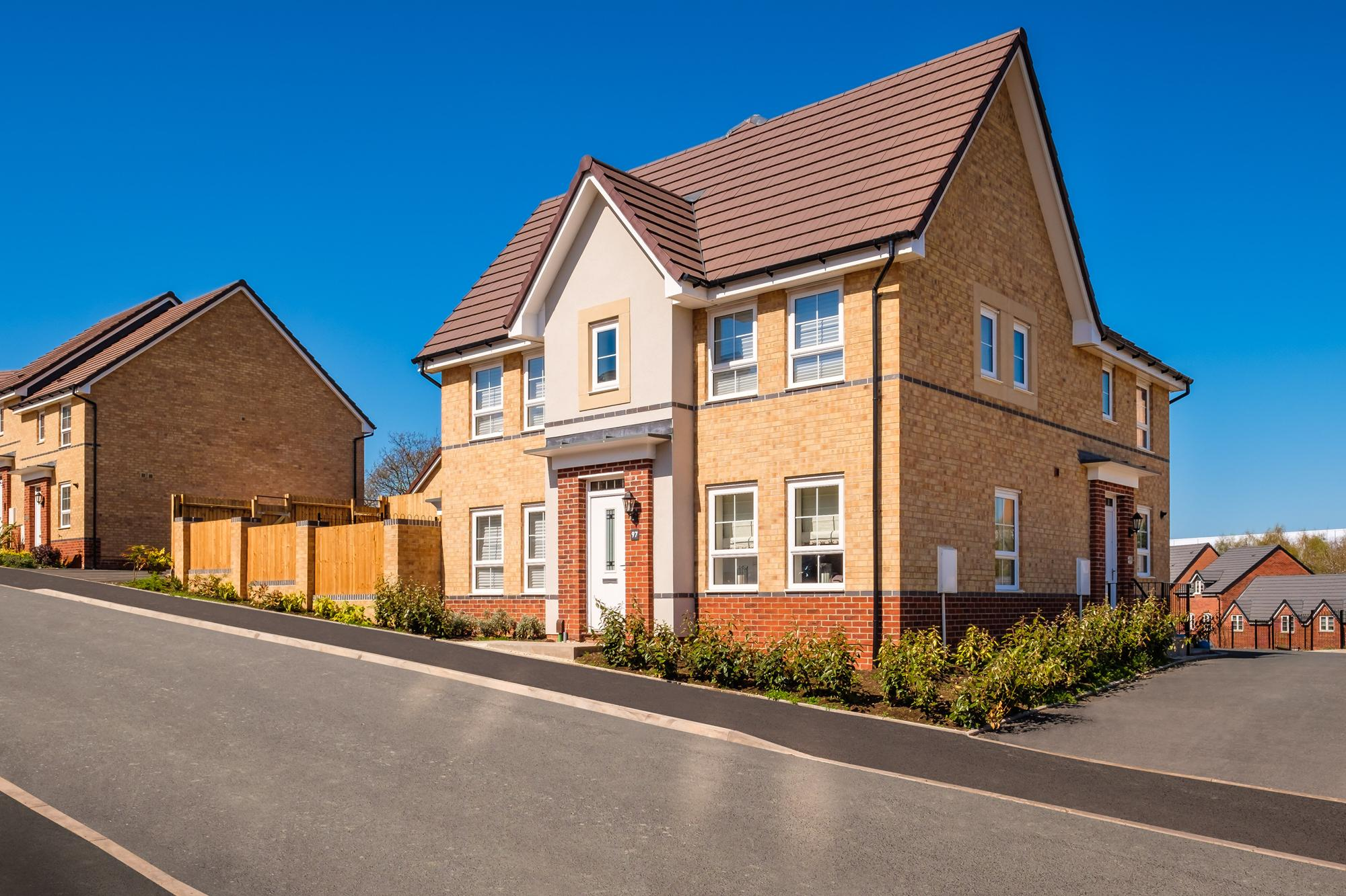New Build Homes in Rugeley