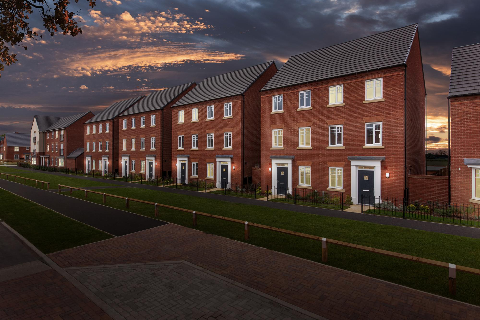 New Build Homes in Vespasian Road