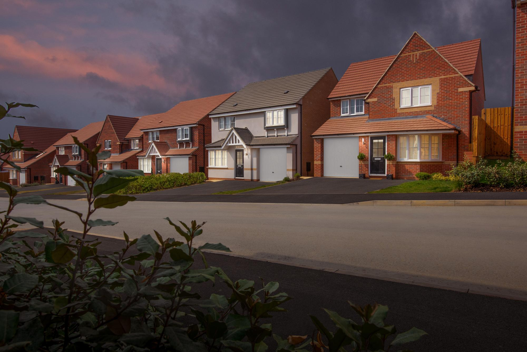 New Build Homes in Corby