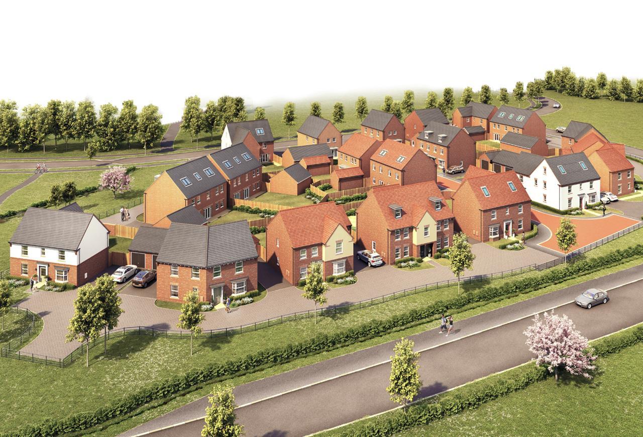 New Build Homes in Wigston