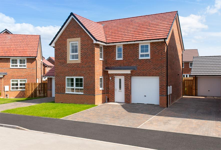 New Build Homes at Halton in