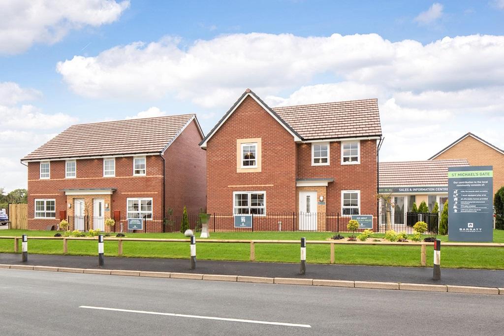 New Build Homes in Llantarnam