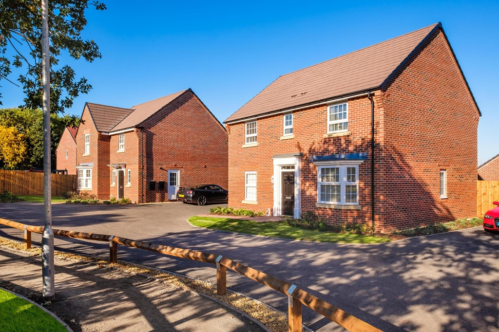 New Build Homes in Redditch