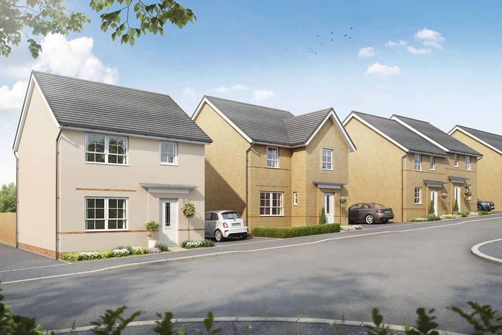New Build Homes in Bridgend