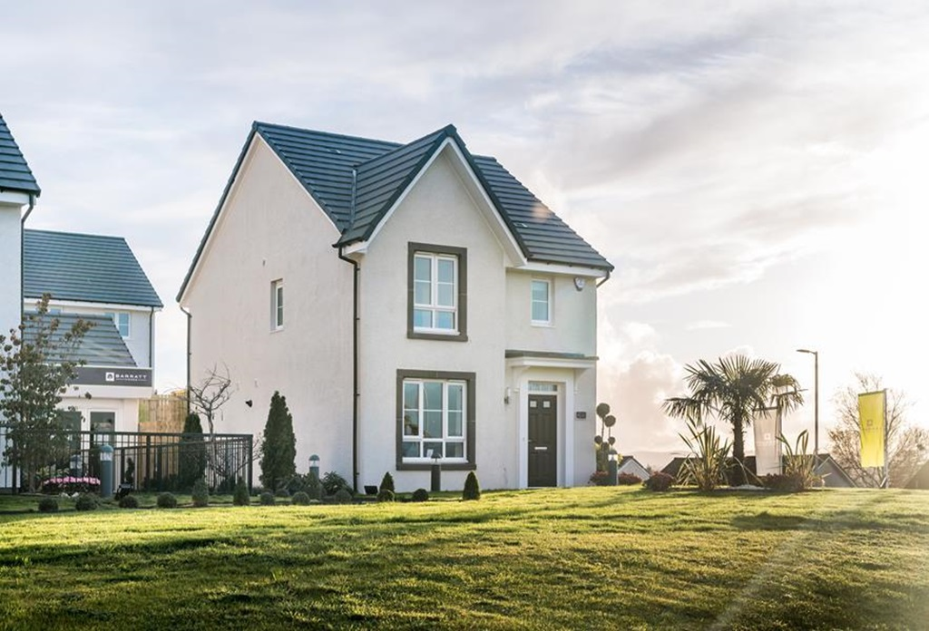 New Build Homes in Bonhill