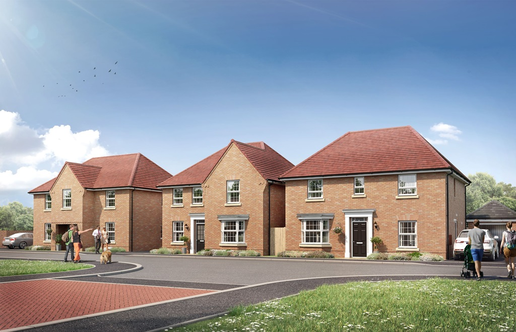 New Build Homes in Bitterscote
