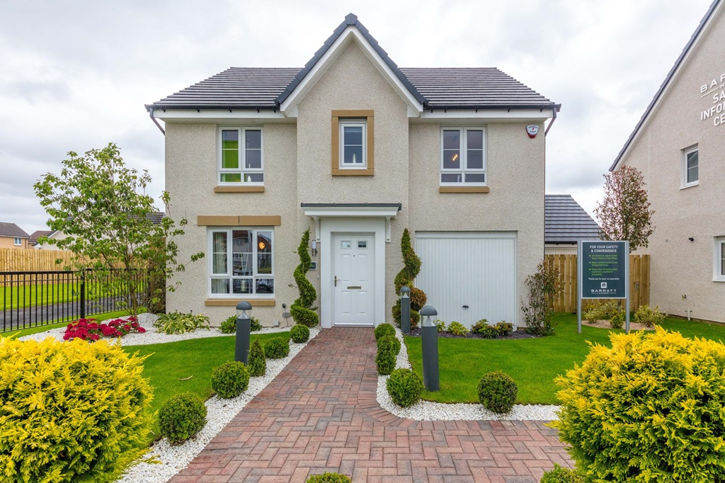 New Build Homes in Drumpellier
