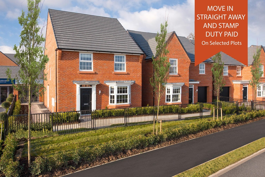 New Build Homes in Upton