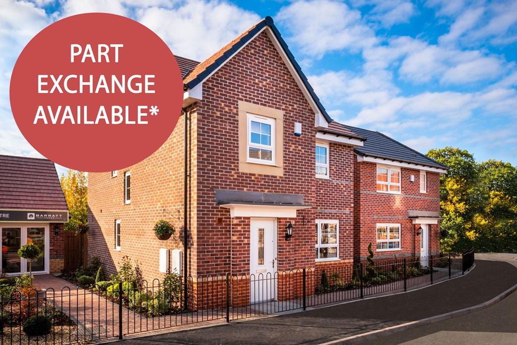 New Build Homes in Stoke Prior