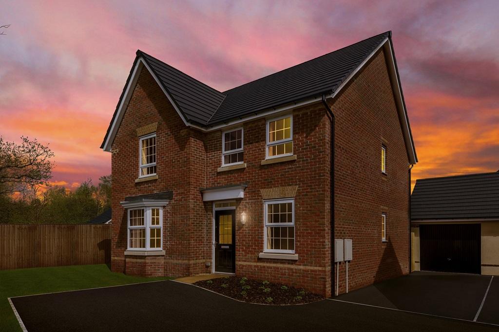 New Build Homes in Penperlleni