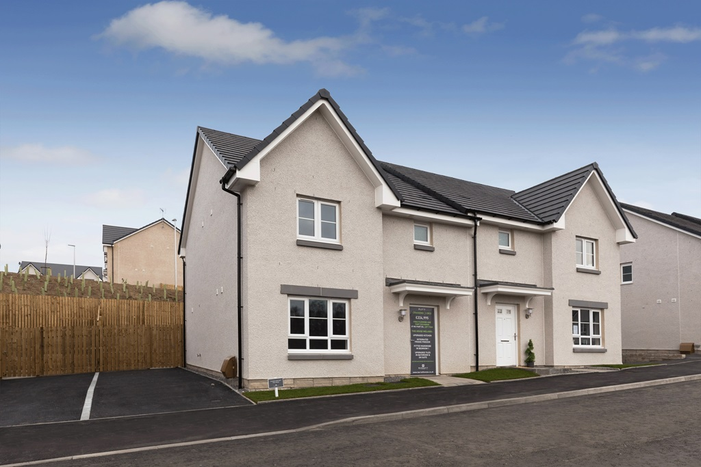 New Build Homes in Kemnay