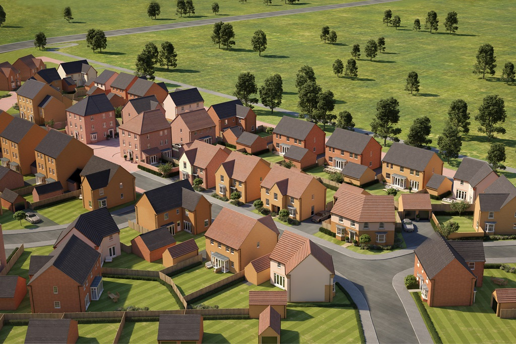New Build Homes in Grantham